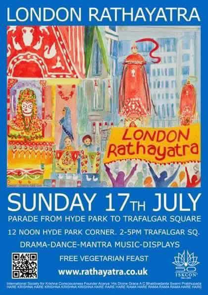 London Rathayatra
