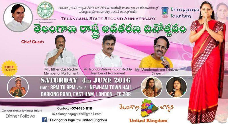 Telangana State 2nd Anniversary