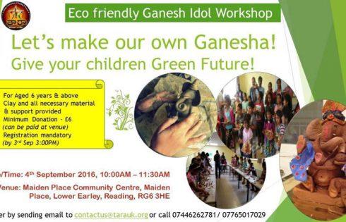 Eco Friendly Ganesh Idol Workshop