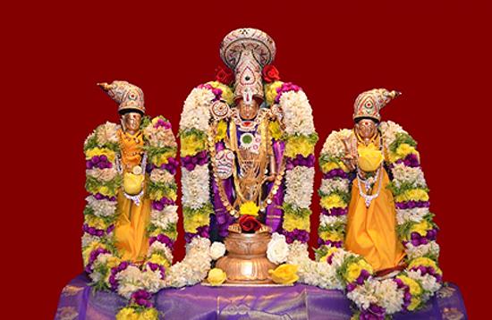 Sri Srinivasa kalyanam  in presence of Sri Chinna Jeeyar Swami