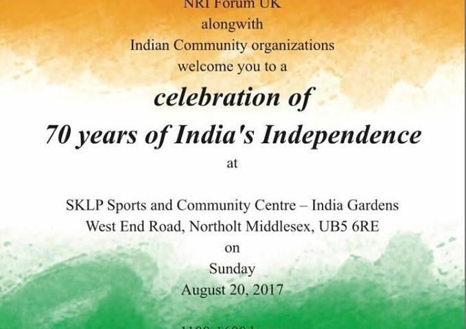 India @ 70 – Independence Celebrations