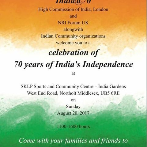 India @ 70 Celebration of 70 years of India Independence Day