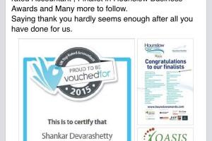 Congratulation Shankar Devarashetty