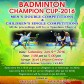 Badminton Champion Cup – 2016