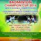 Badminton Champion Cup – 2016