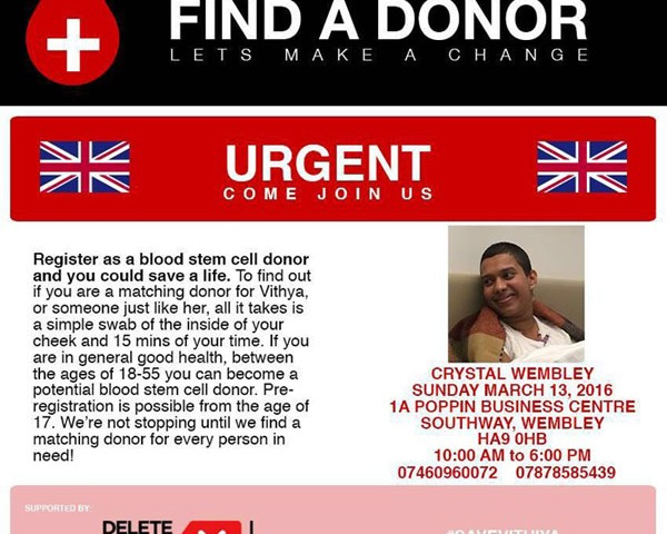 Find a Donor – Lets make a change