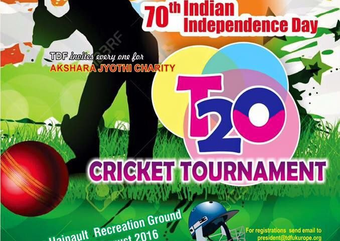 Akshara Jyothi Charity T20 Cricket Tournament on 20th and 21st August 2016