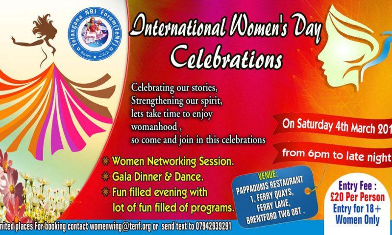 International Women's Day celebrations in london