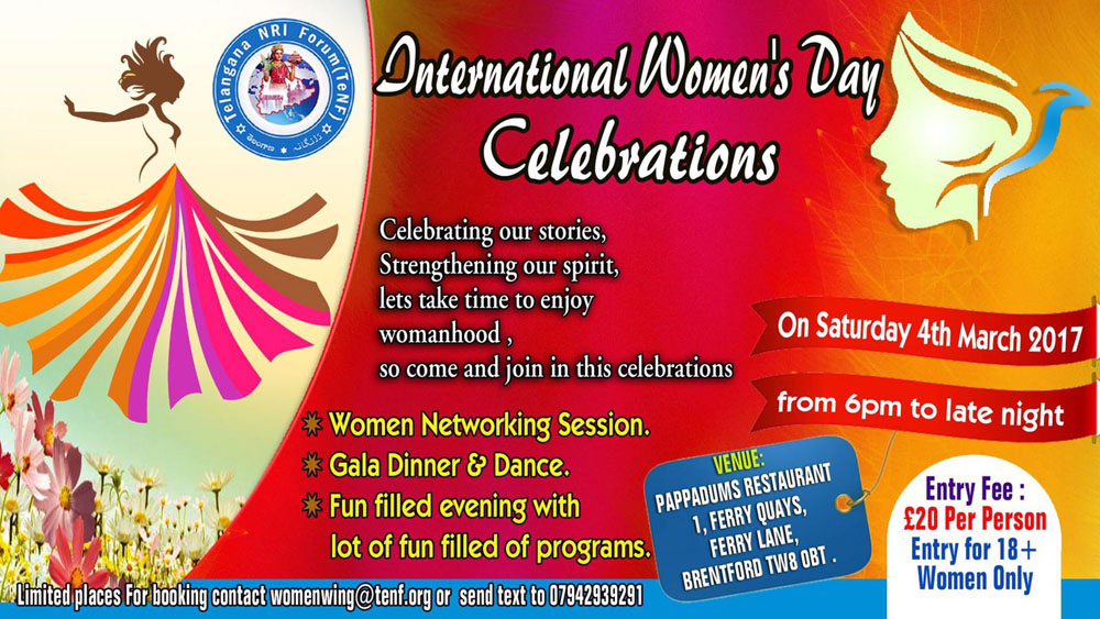 International Women's Day celebrations in london   Ap2uk.com
