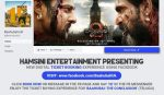 MOVIE TICKET BOOKING USING FACEBOOK BY HAMSINI ENTERTAINMENT