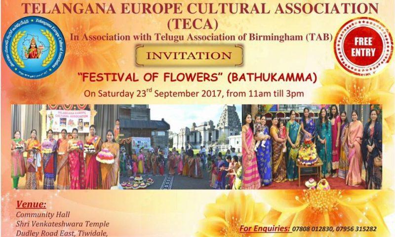 Bathukamma Celebrations By TECA & TAB