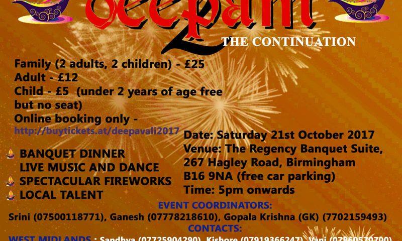 Diwali in Midlands