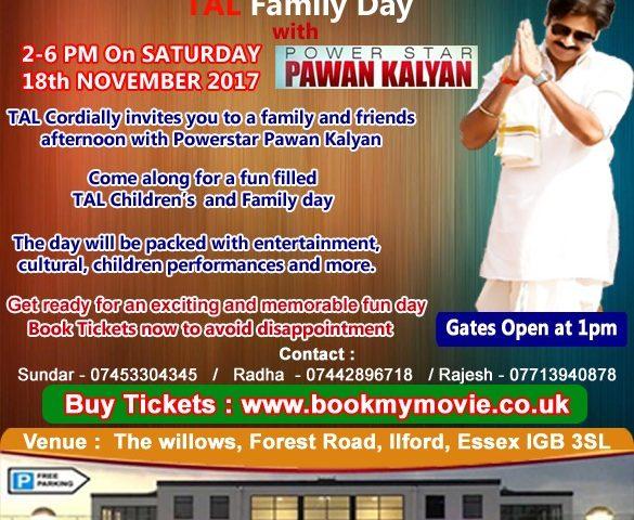 TAL Family day with Power Star Pawan kalyan